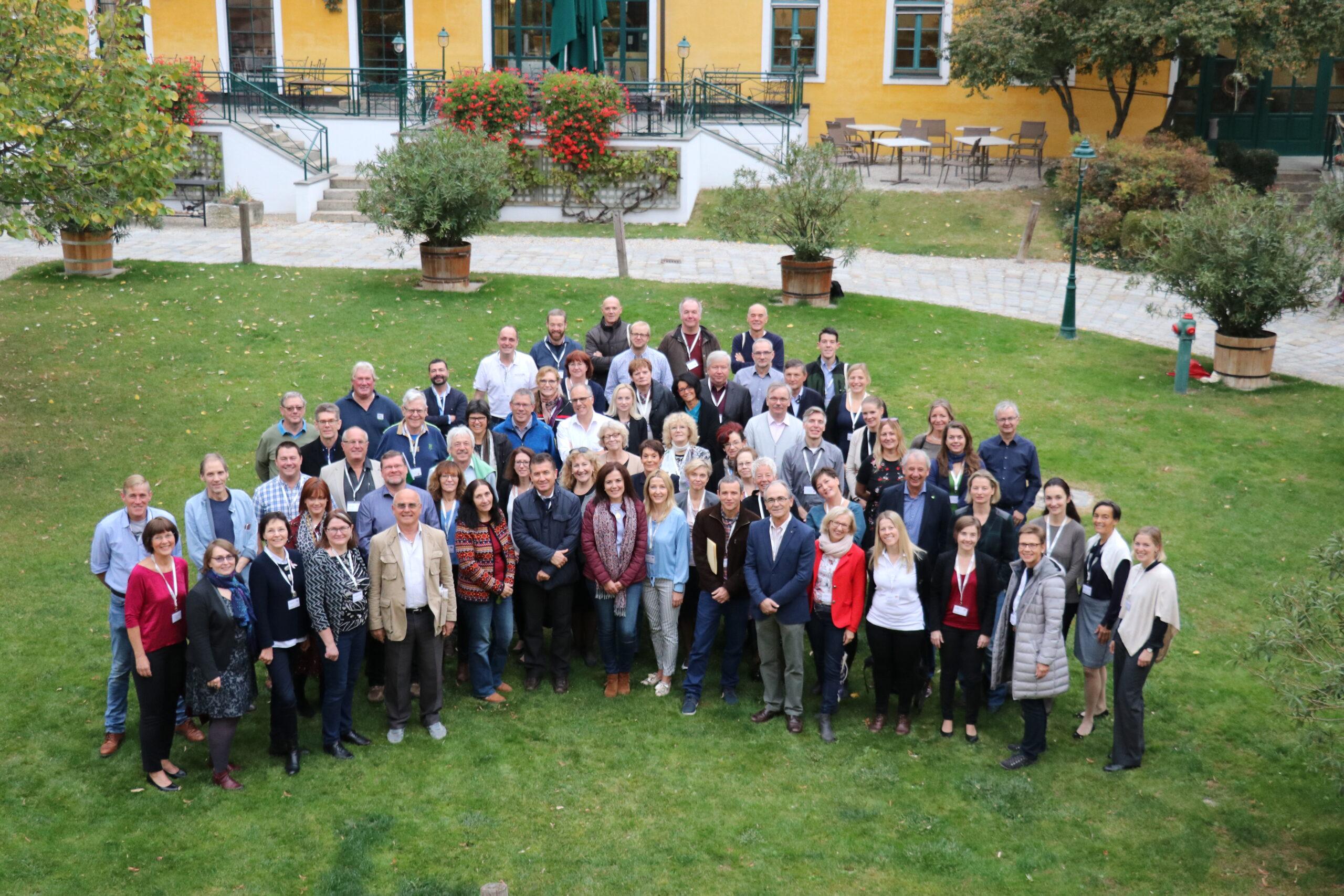 2018 – EUROPEA Austria führt den Vorsitz in EUROPEA International; Generalversammlung in Retz, NÖ
