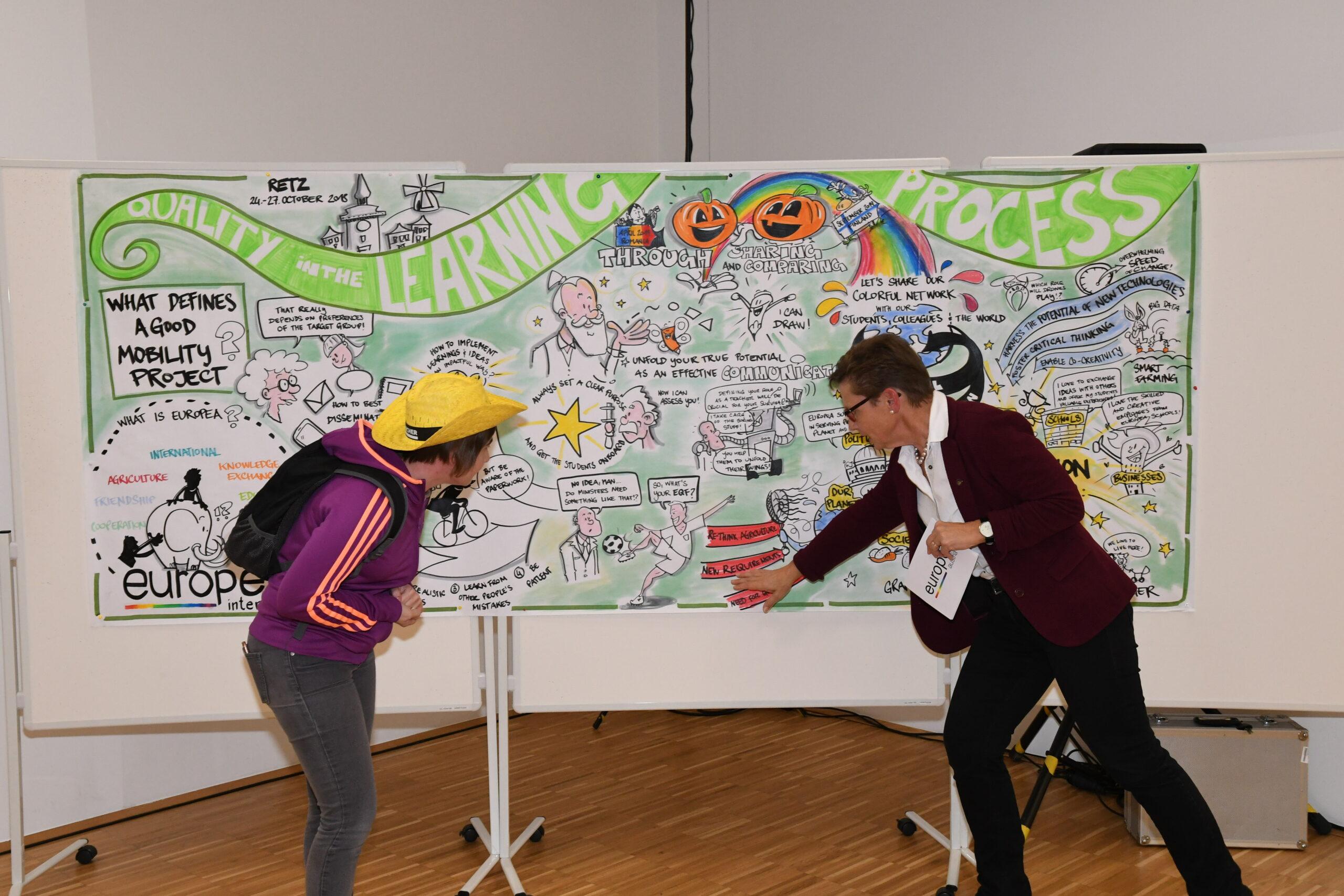 No walls in education - EUROPEA Austria Generalversammlung November 2018 im Rahmen von Treffpunkt Hochschule
