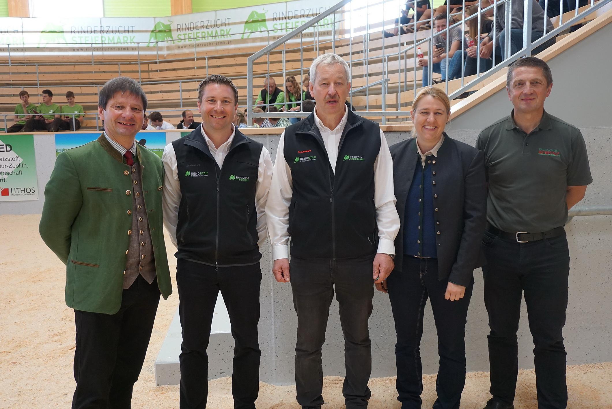 1. EUROPEA Tierbeurteilungswettbewerb in der Steiermark 2017